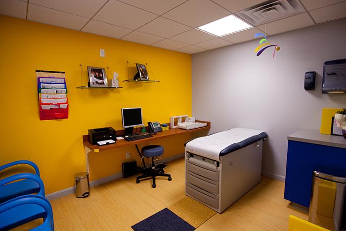 Pediatric office in Wellesley